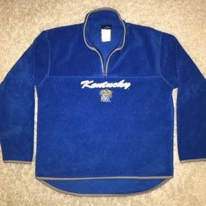 Vintage Kentucky Wildcats Quarter Zip